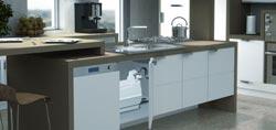 Насосы для кухни Sololift - канализационные санитарные помпы Сололифт для отвода воды от кухонной раковины с бесплатной доставкой